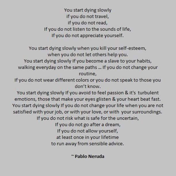 Pablo Neruda insight