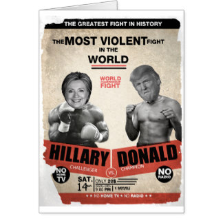 Clinton Trump boxing